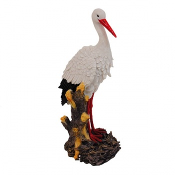 Figurka čáp Wild Stork