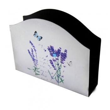 Stojan na papírové kapesníky - levandule