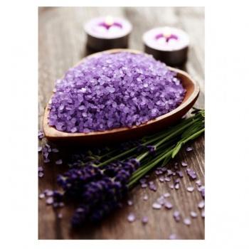 Obraz na plátně - levandulová sůl