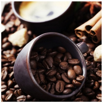 Obraz na plátně - kávová zrna