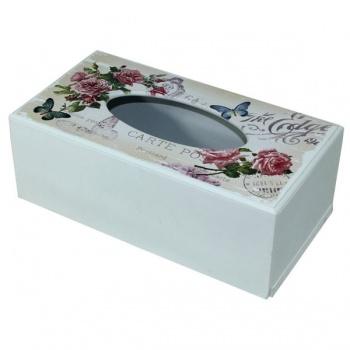 Krabička na papírové kapesníky - růže