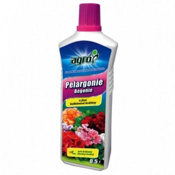 Hnojivo AGRO na balkónové květiny a pelargonie 500ml