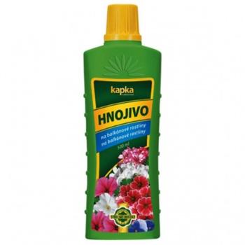 Hnojivo KAPKA na balkónové rostliny 500ml