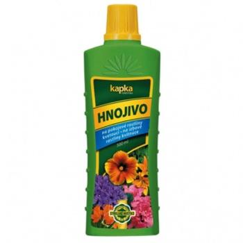 Hnojivo KAPKA na kvetoucí pokojové rostliny 500ml