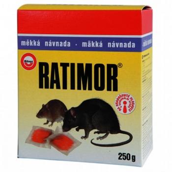Rodenticid RATIMOR měkká návnada 250 g