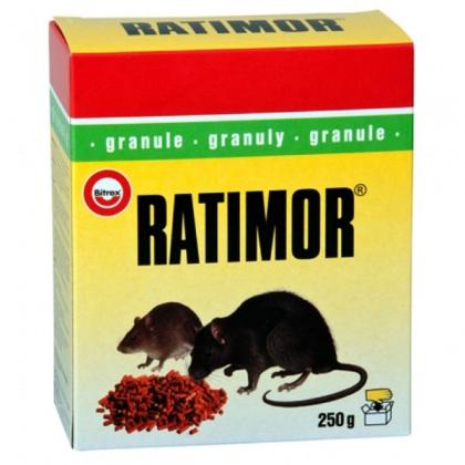 Rodenticid RATIMOR granule