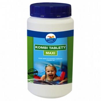 Tablety KOMBI MAXI do bazénu 1kg