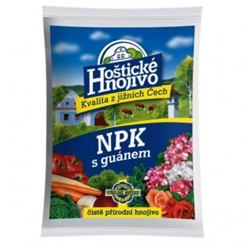 Hnojivo NPK HOŠTICKÉ s guánem 1kg
