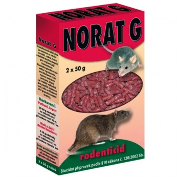 Rodenticid NORAT 2x50g