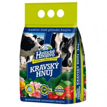 Hnůj kravský HOŠTICKÝ 3kg