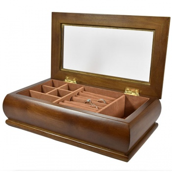 Krabička na bižuterii Dark Wood Long