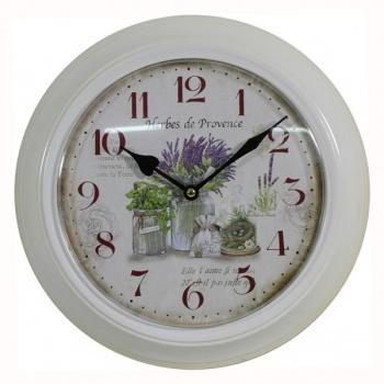 Nástěnné hodiny - levandule