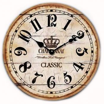 Nástěnné hodiny - Chardonnay