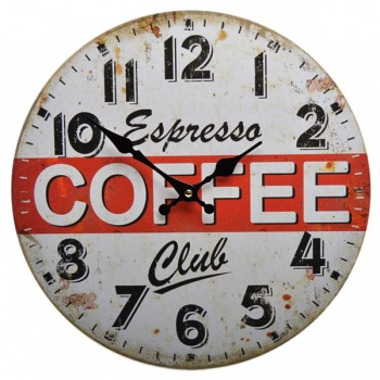 Nástěnné hodiny - Espresso