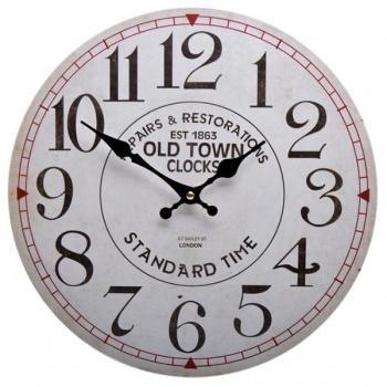 Nástěnné hodiny - motiv Old Town