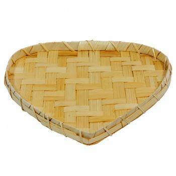 Bambusová miska - srdce