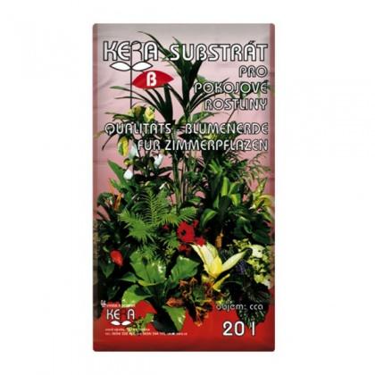 Substrát KERA pro pokojové rostliny 20l
