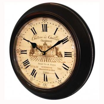 Nástěnné hodiny - zámek