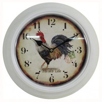Nástěnné hodiny - kohout
