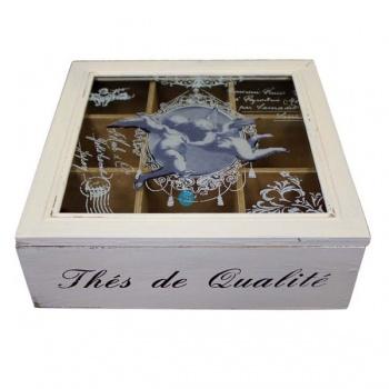 Krabička na čaj - dřevo