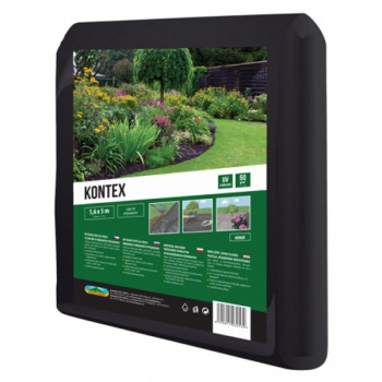 Textilie KONTEX mulčovací netkaná černá 1,6x5 m