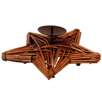 Vrbový svícen - hvězda