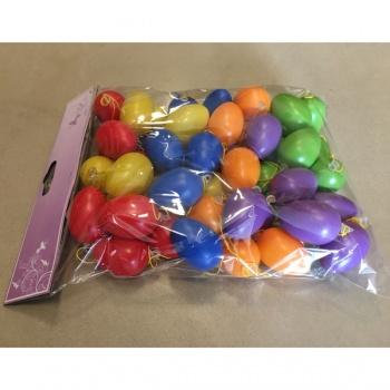 Vajíčka plastová velikonoční, balení 48ks