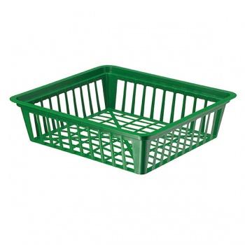 Košík na cibuloviny tmavě zelený