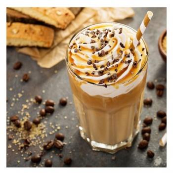 Obraz na plátně - sklenice s kávou