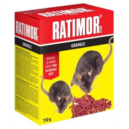 Rodenticid RATIMOR granule 150g