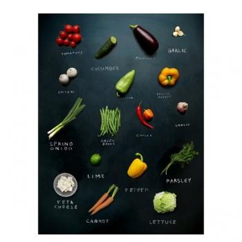 Obraz na plátně - zelenina