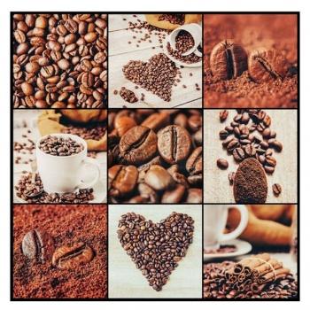 Obraz na plátně - kávové zrna