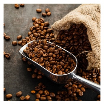 Obraz na plátně - zrnková káva