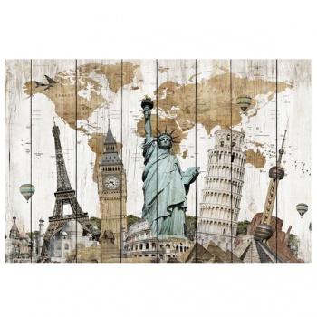 Obraz na plátně - cesta kolem světa