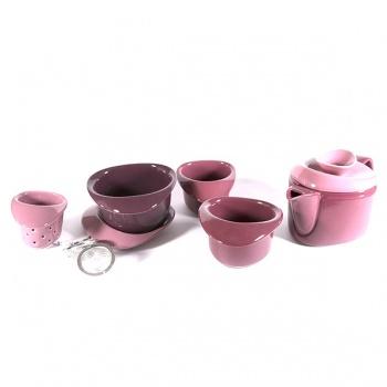 7dílný čajový set Rose