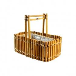 Bambus a dřevo